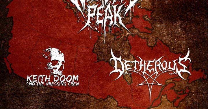 Widow's Peak + Detherous + Keith Doom in Sydney Mines NS